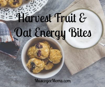 Harvest Fruit and Oat Energy Bites