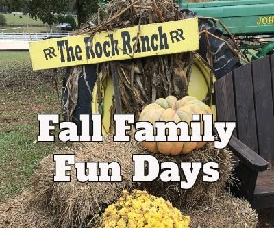 Fall Family Fun Days at The Rock Ranch