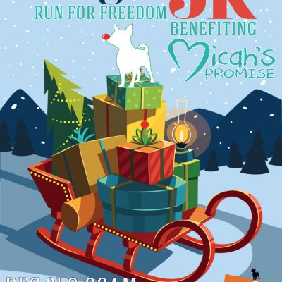 Big Dog Jingle Run for Freedom 5k