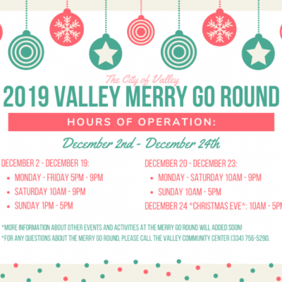 City of Valley Christmas Merry Go Round