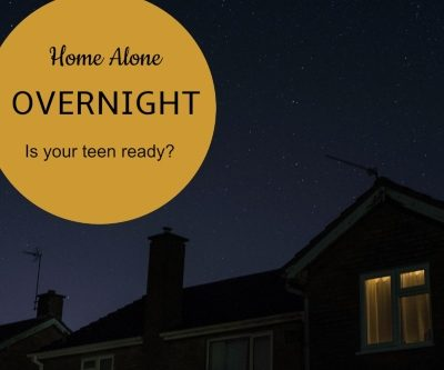 Is Your Teen Ready to Stay Home Alone Overnight?