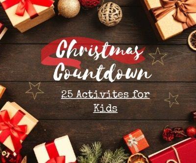 Christmas Countdown: 25 Activities for Kids