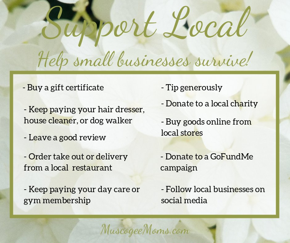Support Local, Shop Local
