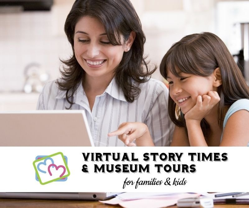 Virtual Field Trips: Story Times & Museums Tours for Kids