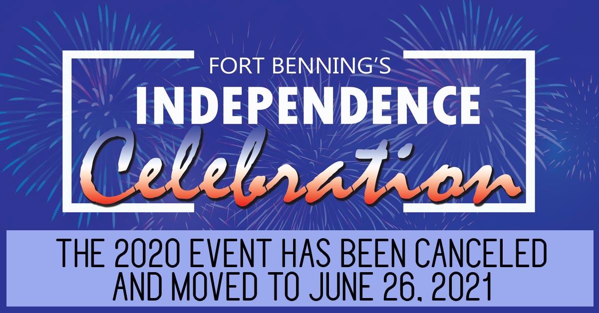 Fort Benning Independence Celebration 2020 – CANCELED