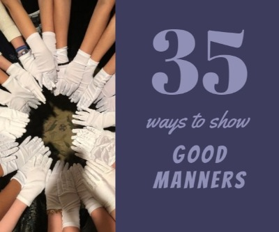 35 Ways to Show Good Manners