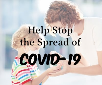 Everyone Can Help Stop the Spread of COVID-19, Here's How