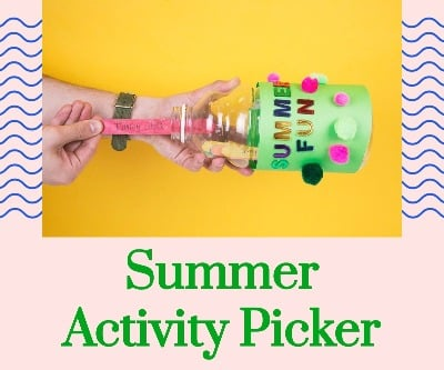 Craft: Summer Activity Picker