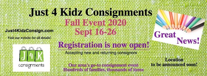 Just 4 Kidz Consignment Fall 2020