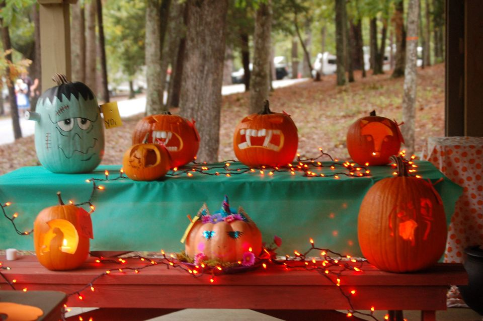 Decorated and Carved Pumpkin Contest
