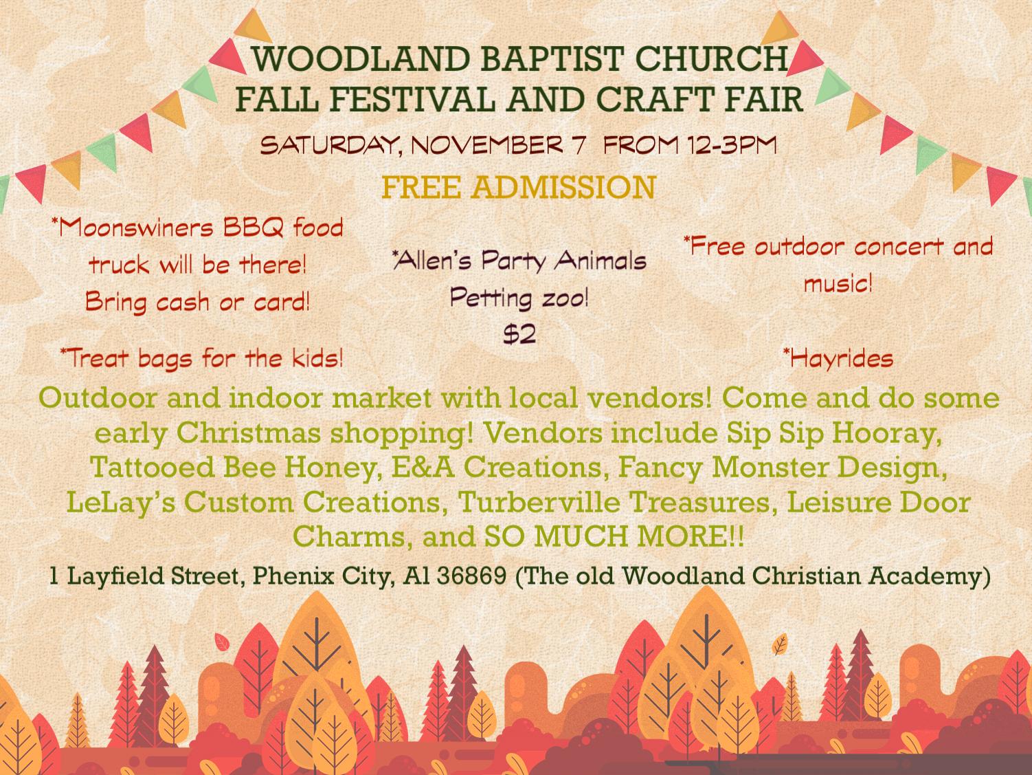 Fall Festival & Craft Fair