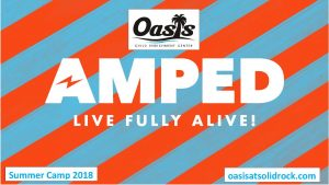 Oasis Amped Summer Camp